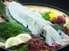 [Sashimi] Limited Availability! Whole Live Japanese Flying Squid Sashimi