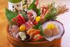 [Sashimi] Sashimi Assortment including live horse mackerel
