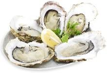 酒蒸し仕立て半生牡蠣