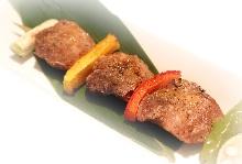 Marinated deep-fried tuna cheek(seasoned with soy sauce)