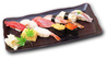 Today's Intermediate Wholesaler's Recommended 10-Piece Hand-Shaped Sushi