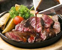 牛赤身ステーキ