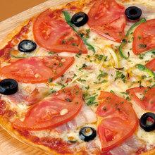 Mixed pizza