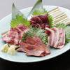 Horse Sashimi Platter (lean meat/marbled meat)