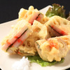 Deep-fried Lotus Root and Cod Roe