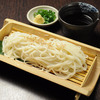 """""""Goto"""" udon noodles prepared with flying fish soup stock"""