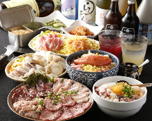 4,400 JPY Course (7  Items)