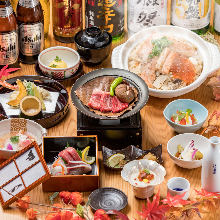 7,500 JPY Course (8 Items)
