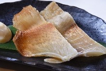 Seared ray fins