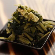 Pickled wasabi
