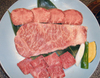 Specially selected assorted meat (sirloin, Korean style rib, roast, tongue seasoned with salt)
