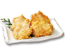 Fried chicken with salt-based sauce