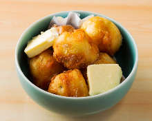 Deep-fried potato