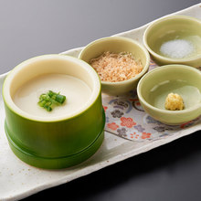 手作り竹筒豆腐