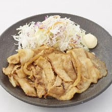 Ginger fried pork