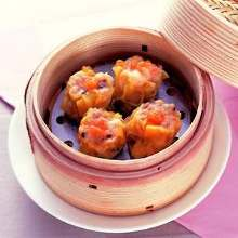 Steamed crab dumplings