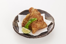 Fried Japanese pufferfish