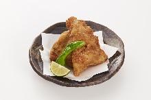 Fried Japanese pufferfish