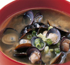 Miso Soup with Basket Clams