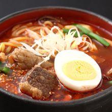 Spicy Korean yukgaejang soup