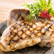 Grilled young chicken