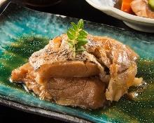Stewed fish collar