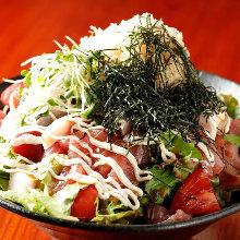 海鮮伍平サラダ