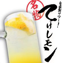 自家製レモンサワー 〝てけレモン〟
