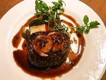 Pork hamburg steak