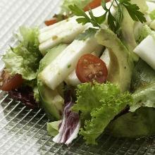 Japanese yam salad