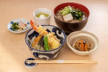 Soba meal set