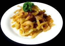 Sichuan vegetables