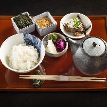 Ochazuke beef shigure