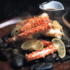Stone-Steamed Red King Crab