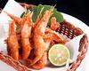 Fried Hokkaido Sweet Shrimp with Yuzu Citrus Flavors