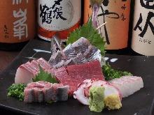 Other sashimi / fresh fish dishes