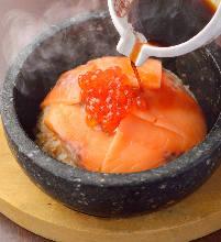 Harako Meshi (salmon roe rice)