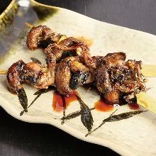 Grilled eel liver