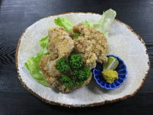 Marinated deep-fried chicken (seasoned with soy sauce)