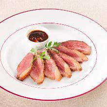 Aigamo duck steak