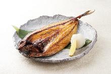 Dried mackerel