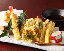 Assorted tempura, 7 kinds