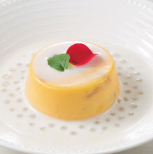 Mango pudding