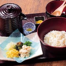 Tori Meshi(chicken rice)