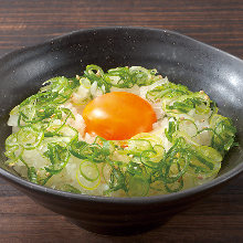 Negitama Gohan (rice and egg rice)