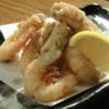 Fried prawns