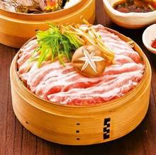沖縄県産 琉香豚と季節野菜のせいろ蒸し