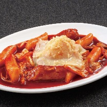 Cheese tteokbokki