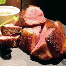 Grilled duck