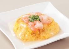 Stir-fried shrimp with salt